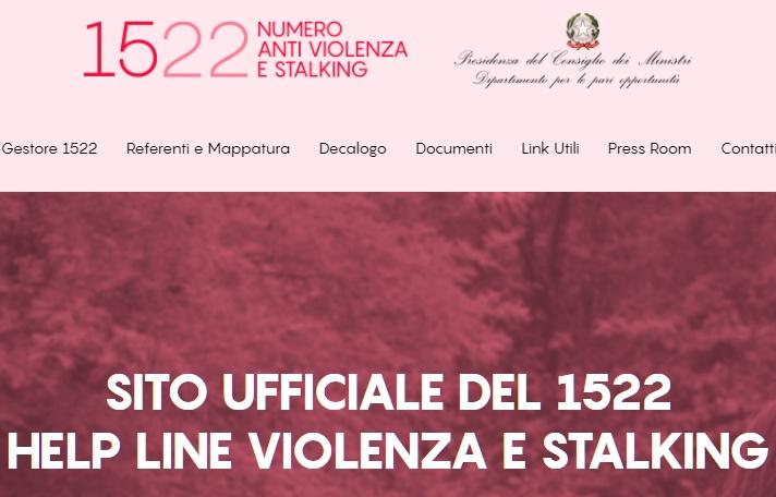 1522 anti violenza sulle donne